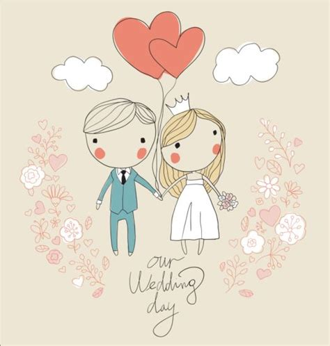 Wedding Card Eps by Wedding Card Vector 04 Vector Card Free