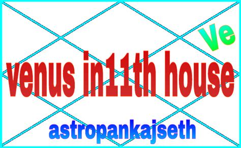 11th house venus in eleventh house astro pankaj seth