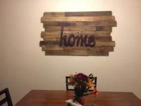 Wood Pallet Home Decor 10 Diy Wood Pallet Wall Ideas 99 Pallets