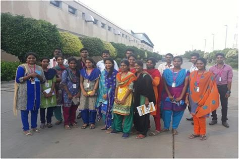 Mba In Chennai 2017 by I Mba Students Batch 2017 19 Visited The Hindu On 26 10