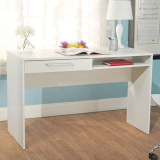 simple living writing desk simple living white writing desk by simple living