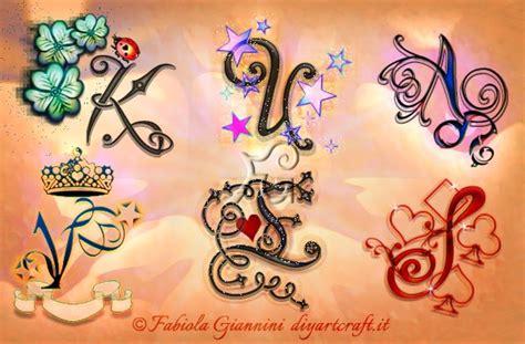 lettere stilizzate alfabeto archivi diyartcraft