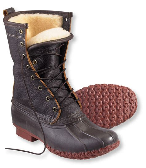 ll bean womans boots s bean boots by l l bean 10 quot bison from l l bean inc