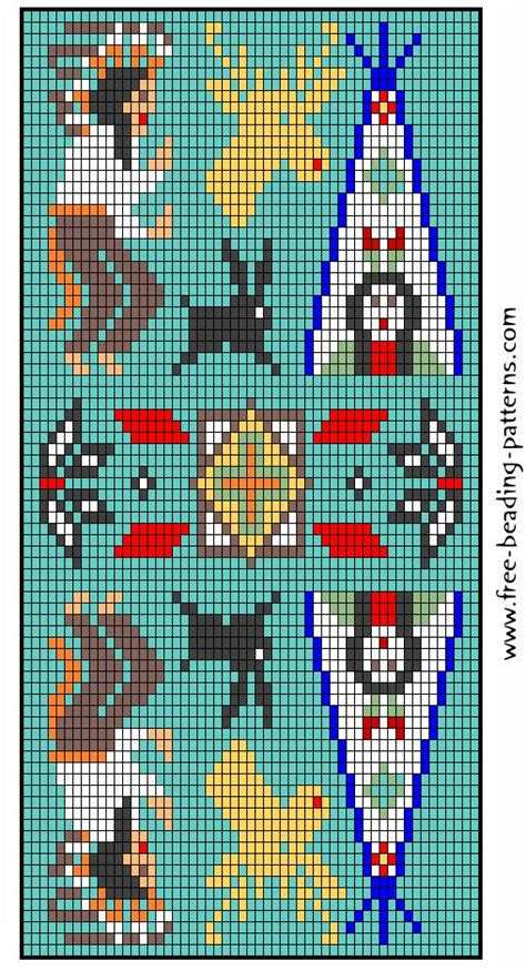 online aztec pattern maker 86 best seed beads amulet bags and things images on