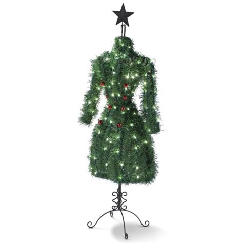 fashionista christmas tree s form inspired by designer