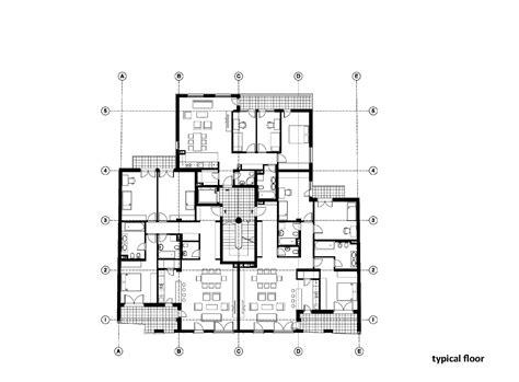 plan builder galeria de edif 237 cio residencial na rua vase stajića