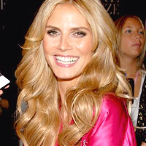 Heidi Klum Needs Some Makeup by 1000 Ideas About Secret Hairstyles On