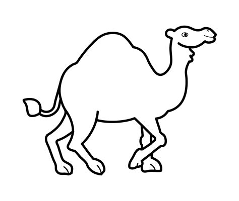 camel coloring page az pages sketch coloring page