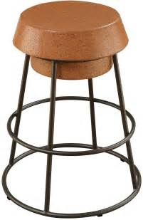 And Light Brown Stool by Light Brown Cork Counter Height Stool Set Of 2 From