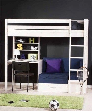 bunk bed with single futon and desk 1000 ideas about bunk bed with desk on pinterest bunk