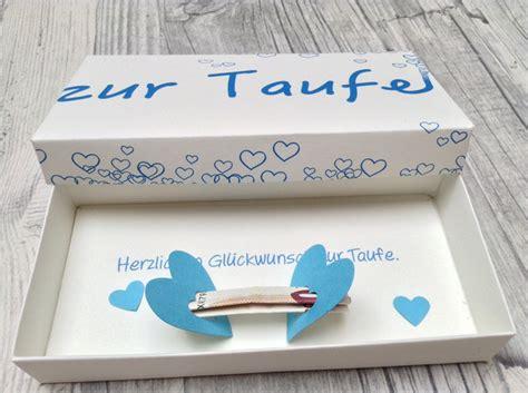 geldgeschenke geschenkbox zur taufe ein designerst 252 ck