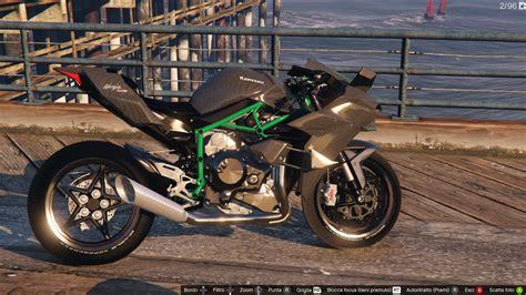 Motorrad Kawasaki Ninja H2r by Kawasaki Ninja H2 H2r Gta5 Mods