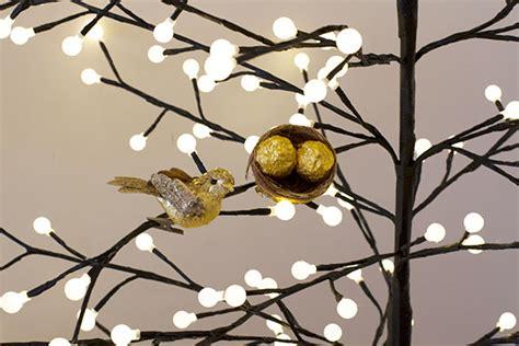 birds nest christmas tree ornaments