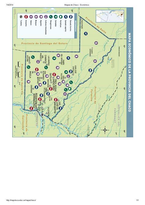 mapoteca la biblioteca de mapas de educ ar mapa para imprimir del chaco argentina mapa econ 243 mico