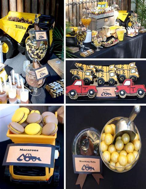 Truck Birthday Decorations by Kara S Ideas Construction Truck Birthday