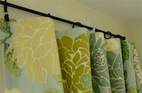 command strips to hang curtains curtain rod hung from command hooks diy window