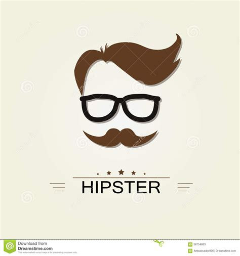 hipster design elements vector hipster icon stock vector image 58754863