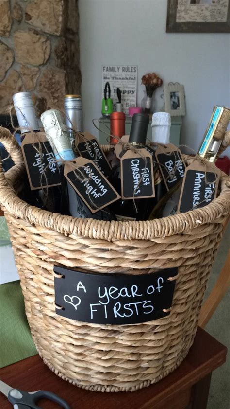 95 best images about Diy wedding wine basket ideas on