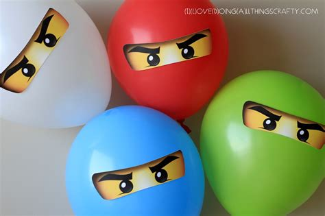 printable ninjago eyes for balloons i love doing all things crafty ninjago balloon stickers