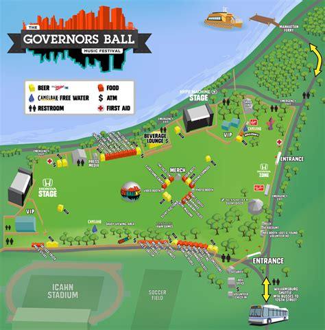 randall s island field map official edm lounge governors nyc preview
