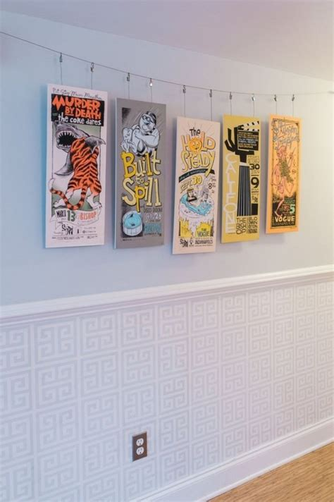 how to hang art prints without frames 6 methoden f 252 r bilder aufh 228 ngen ohne bohren