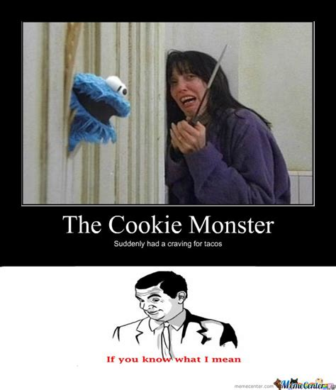 Monster Meme - cookie monster by ozzy9314 meme center