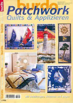 Burda Patchwork - burda burdalovers burdaspain patchwork quilt