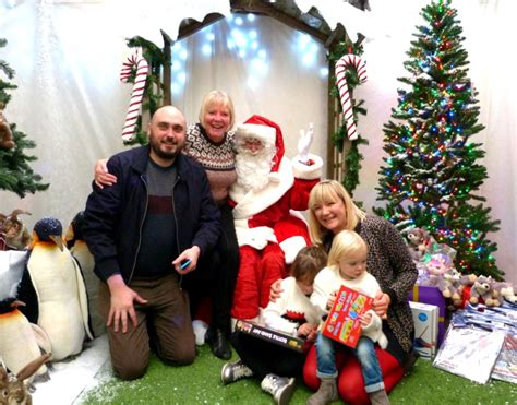father christmas at garden centre santa at wyevale and a weekend of christmas fun