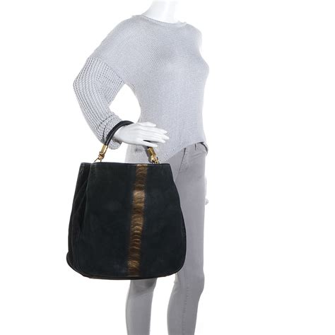 Yves Laurent Ostrich Downtown Purse by Yves Laurent Large Ostrich Downtown Bag Discount