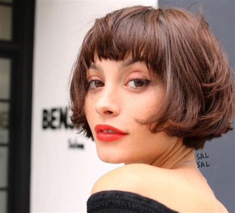 choppy bobs with fringes the choppy bob 12 refreshing ways to rock the look