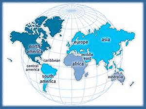 pin globe map cake on