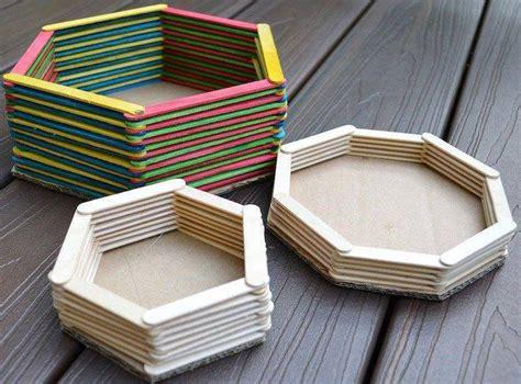 Alat Perekat Plastik Es Krim koleksi gambar kerajinan tangan terbuat dari stik es krim