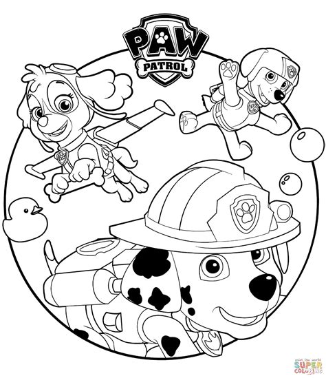 paw patrol coloring pages full size printable paw patrol coloring pages with wallpapers
