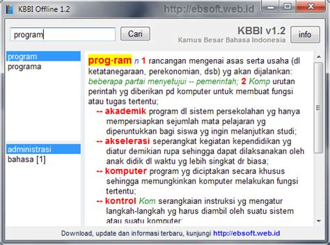 blogger kbbi kamus besar bahasa indonesia kbbi offline 1 2 berbagi ilmu