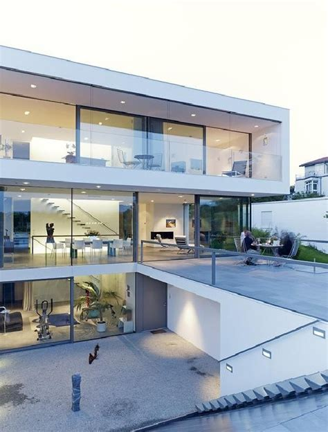 paradise in germany a modern minimalist dream house elegantly displaying a minimalist design puristische villa