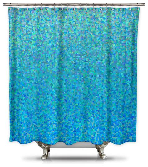blue fabric shower curtain catherine holcombe blue raspberry fabric shower curtain