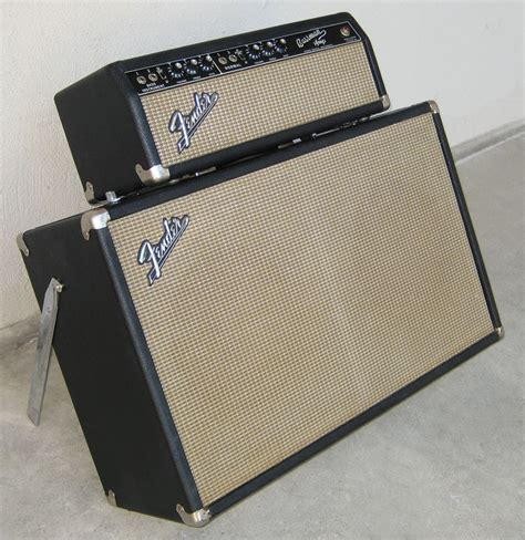 Fender 2x12 Cabinet by Fender Bassman 2x12 1960 1965 Cabinet Cover
