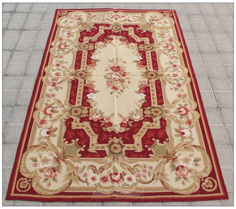 Needle Point Rug by Shabby Chic 3x5 Needlepoint Rug Aubusson Decor