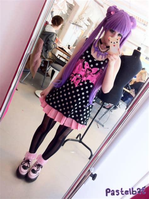 kawaii pastel goth fashion tumblr the dark lullaby moda pastel goth nu goth soft grunge