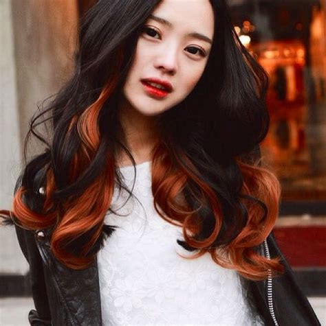 dark skin with cooper hair 20 hottest new highlights for black hair copper two