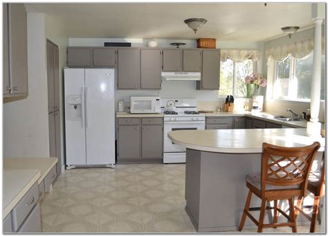 Formica Laminate Kitchen Cabinets Painting Formica Cabinets Before And After Cabinets Shelving Painting Laminate Cabinets Painting