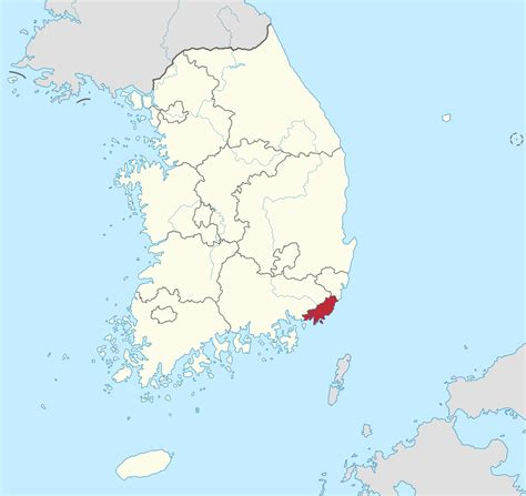 busan south korea map file busan gwangyeoksi in south korea svg wikimedia commons