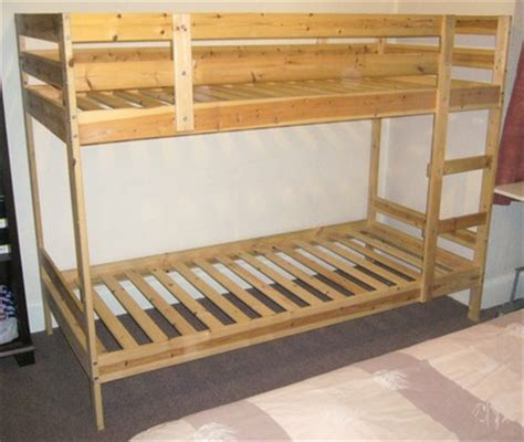 Ikea Mydal Bunk Bed Popsike Ikea Mydal Solid Pine Bunk Beds Auction Details