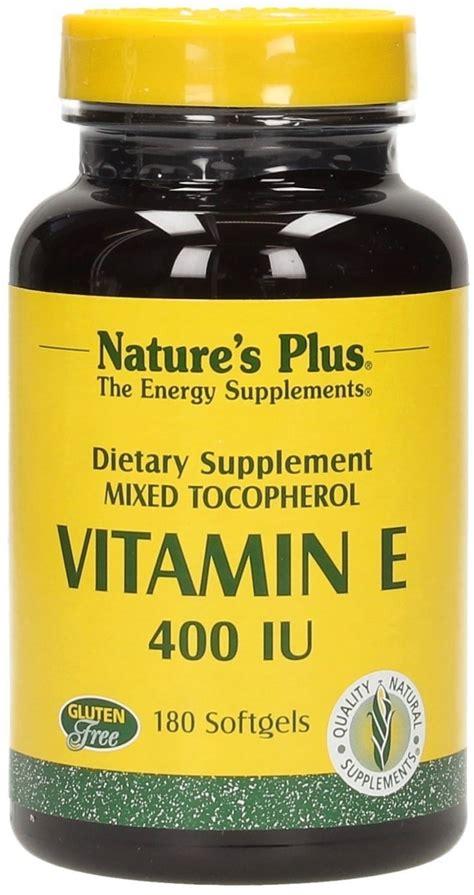 Nutracare Vitamin E Mixed Tocopherols 400 Iu vitamin e 400 iu mixed tocopherols nature s plus