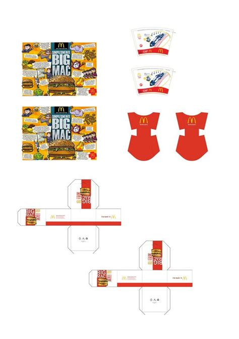 donald doll house 217 best images about miniature fast food printables on