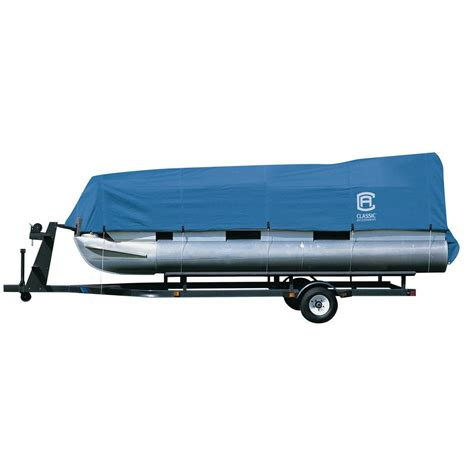 20 ft boat cover classic accessories stellex 17 ft to 20 ft pontoon boat