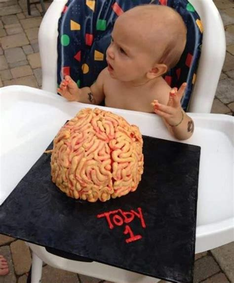 Reier Brains The Business Of Cake by Human Brain Shaped Birthday Cake For Toddler Goes Viral