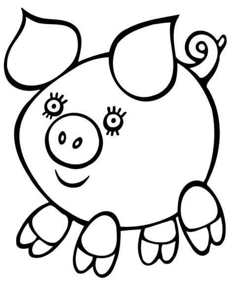 easy coloring pages for seniors coloring pages easy drawings for kids coloring pages for