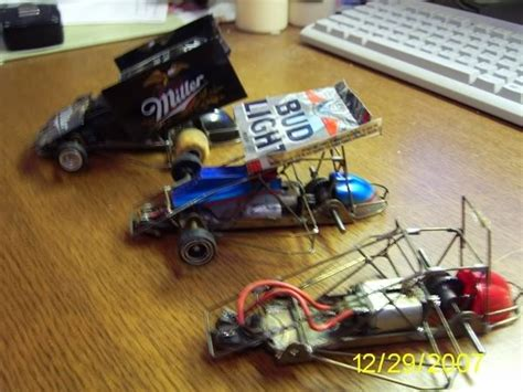 Pch Parts Express - beer can winged sprint cars scratchbuilding slotblog