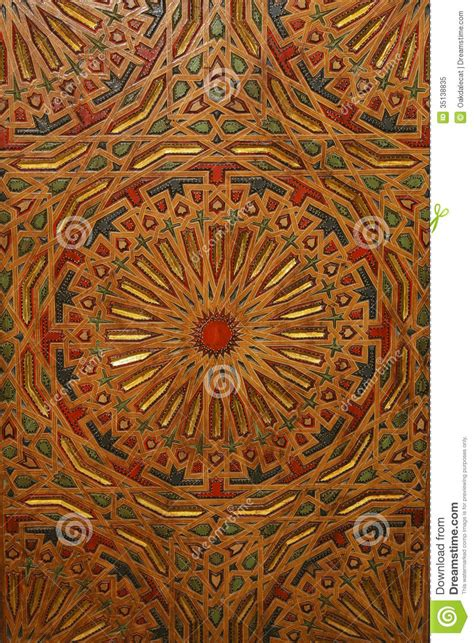 abstract background colorful moroccan woodwork royalty